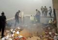 【组图】尼日利亚客机坠毁现场搜救图片