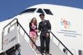 11-year-old Blue Peter winner Katherine Dewar (left) and British Airways' Captain Mark Mannering-Smith (right). Source: British Airways