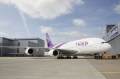First THAI A380 rolls out of paint shop. Source: Airbus S.A.S.