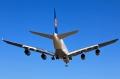 """图:德国汉莎航空A380-800型客机。<a href=http://pic.feeyo.com target=_blank>民航图库</a>图片,摄影:民航资源网网友""""<a href=http://pic.feeyo.com/photo.jsp?userid=692847 target=_blank>lusen</a>""""。(浏览图库《<a href=http://pic.feeyo.com/posts/552/5523487.html target=_blank>[原创]国外的天气真给力</a>》)"""