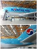 """图:大韩航空第一架A380客机,HL-7611号。<a href=http://pic.feeyo.com target=_blank>民航图库</a>图片,摄影:民航资源网网友""""<a href=http://pic.feeyo.com/photo.jsp?userid=179436 target=_blank>不记来时路</a>""""。(浏览作者图库原帖《<a href=http://pic.feeyo.com/posts/535/5353029.html target=_blank>[原创]【首发】大韩A380明天投入商业运营,先睹为快</a>》)"""