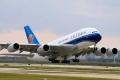 """图:身披南航涂装的A380。中国南方航空B-6136号A380客机。<a href=http://pic.feeyo.com target=_blank>民航图库</a>图片,摄影:民航资源网网友""""<a href=http://pic.feeyo.com/photo.jsp?userid=32924 target=_blank>天际穿梭者</a>""""。(浏览作者图库原帖《<a href=http://pic.feeyo.com/posts/547/5475718.html target=_blank>[原创]趁热打铁 炒炒回锅肉 还是瞒有味道</a>》)"""