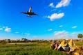 【那些年,飞友镜头中的巫家坝】:菜地拍飞机