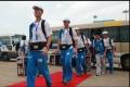 2008年,昆明机场全力保障北京奥运会云南段的圣火传递
