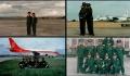 昆明机场安检站员工与战友在巫家坝不同时期的合影