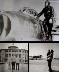 赵一鸣(1963年9月-1983年10月任原民航云南省管理局副局长)图为赵一鸣与夫人当时工作和生活的情形。