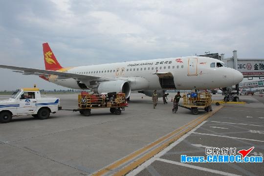 成都,乌鲁木齐,三亚,太原,昆明6个城市;7月份,包头至北京航班达到每天