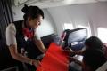 长水首航航班乘客签名留念