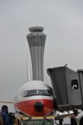 首航飞机停靠133停机位