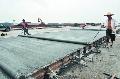 南充機場新建跑道具雛形 已完成工程量的70%