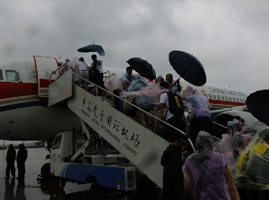 众志成城抗台风——东航山东地服部抗台纪实