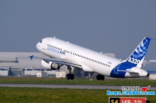 图:空客a320飞机(资料图片)图片