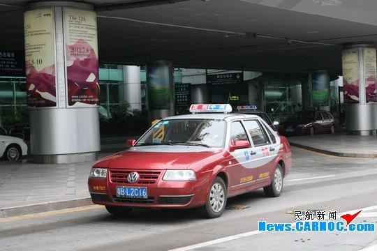 深圳机场新增290辆出租车 让旅客出行更顺畅