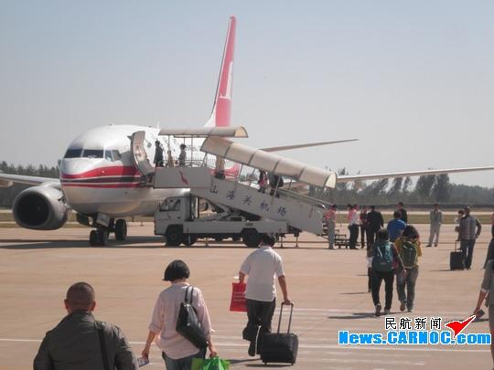 """""""十一""""黄金周期间秦皇岛机场客流5297人次"""