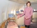 华航耗资一亿美金客舱升级 空姐五星级铺床