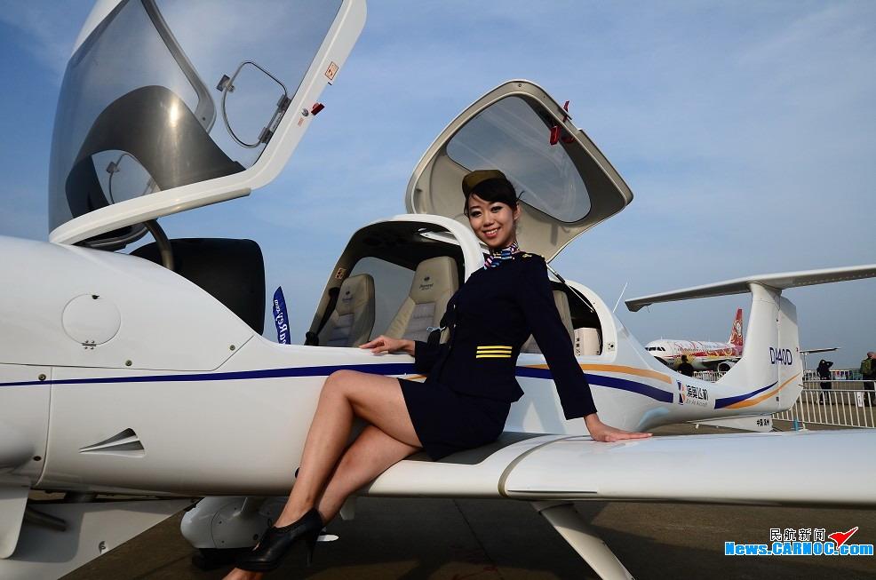 【图集】飞机+美女——珠海航展现场随拍