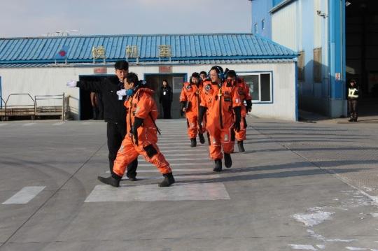 南航珠直兴城基地保障中海油副总裁VIP出行