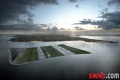 Proposals: Engineers have unveiled ambitious plans to create this 39 billion pounds airport for London - in the middle of the Channel