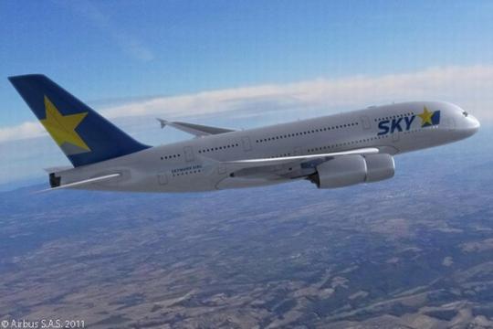 日本天马航空拟使用A380执飞东京至纽约航班