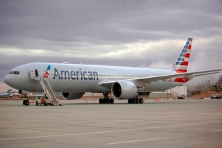 The 77W looks ready to fly. Check out the Wi-Fi antenna up top. Image from American.