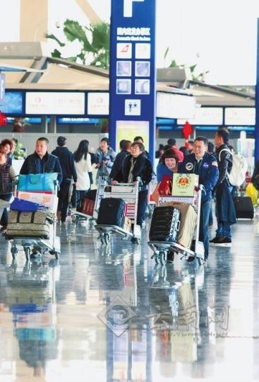 云南各机场推出春运特色服务 方便旅客出行