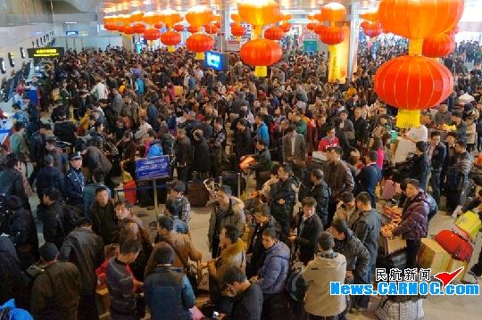 贵阳机场春节黄金周旅客吞吐量将达16万人次