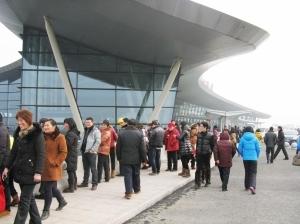 """扬州泰州机场成新景点 每天万人""""游""""机场"""