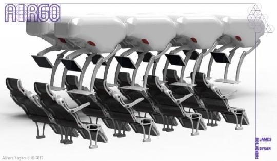飞机经济舱座椅创新设计 舒适度堪比头等舱