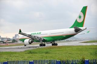 21. EVA Airways - 76.31% on time. PATRICK LIN/AFP/Getty Image