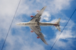 19. Virgin Atlantic - 76.77% on time. LEON NEAL/AFP/Getty Images