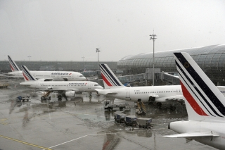 14. Air France - 80.76% on time. ERIC PIERMONT/AFP/Getty Images