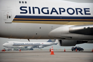 13. Singapore Airlines - 80.87% on time. ROSLAN RAHMAN/AFP/GettyImages