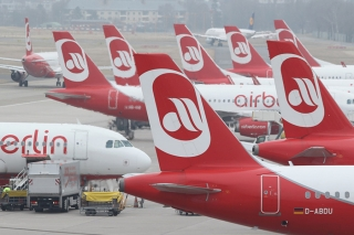 12. Air Berlin - 81.80% on time. Sean Gallup/Getty Images