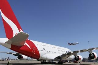 11. Qantas - 82.66% on time. AP Photo/Rob Griffith