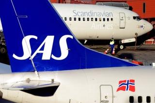 3. SAS - 87.91% on time. AP Photo / Johan Nilsson / SCANPIX