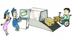 机场旅客行李惊现人腿 人体器官空运有限制