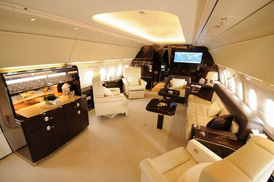 Inside Airbus' Luxury Private Jet
