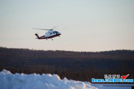 东方通用航空重返加格达奇进行东北航空护林