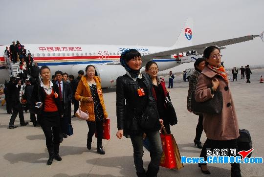 东航已圆满完成甘肃省人大代表运输保障任务