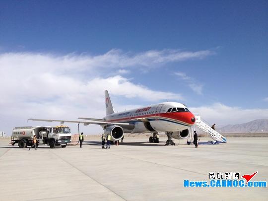 东航顺利完成格尔木机场新建ILS/DME验证试飞