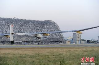 瑞士太阳能飞机开启飞越美国大陆之旅