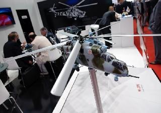 俄第六届国际直升机展开幕 东道主机型繁多