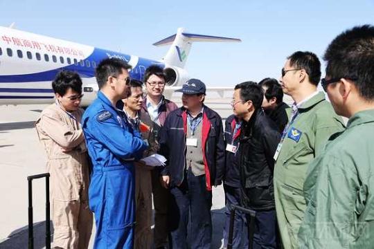ARJ21-700试飞惊心瞬间:发动机喘振砰砰巨响