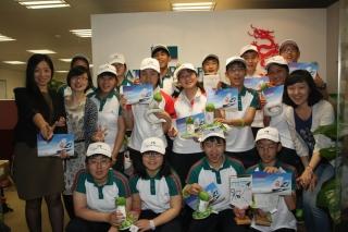 """""""让梦启航""""2013国泰航空及港龙航空青少年航空梦想训练营上海站圆满结束。"""