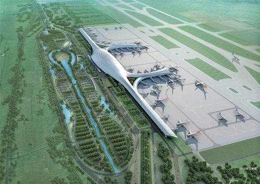 七机场同时扩容 五年后广西航空经济超千亿