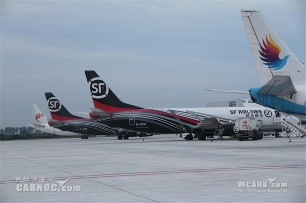 順豐否認建樞紐機場 稱是在機場投入航空設施