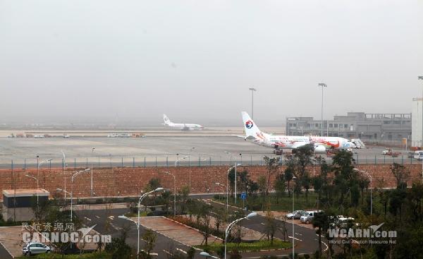 长水机场2014年预计运送旅客3473.52万人次