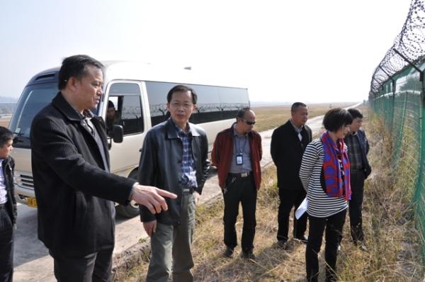 西南管理局调研西昌青山机场改扩建工程情况