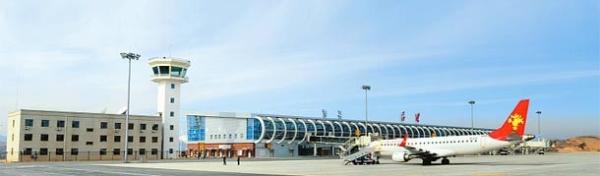 山西省吕梁机场试飞成功 飞行区等级为4C