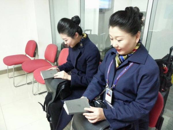 查询相关业务知识,践行为一线乘务员服务的承诺,国航客舱部精心设计